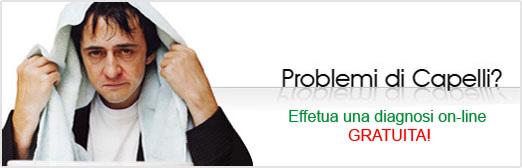 Problemi di Capelli?. Richiedi gratuitamente una diagnosi On-Line.